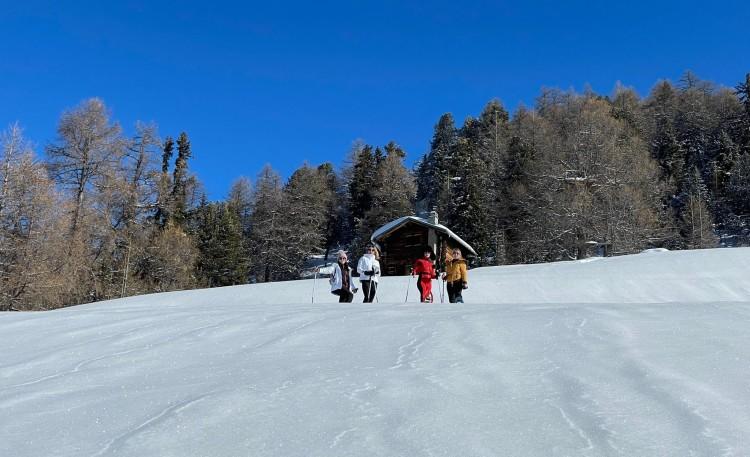 Snowshoeing / Прогулка на снегоступах